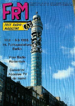 FRM augustus 1985